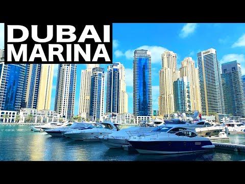 Dubai Marina Complete Walk | 4K | Dubai Tourist Attraction