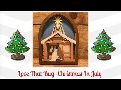 Cricut Explore   Christmas Nativity Scene Video 2