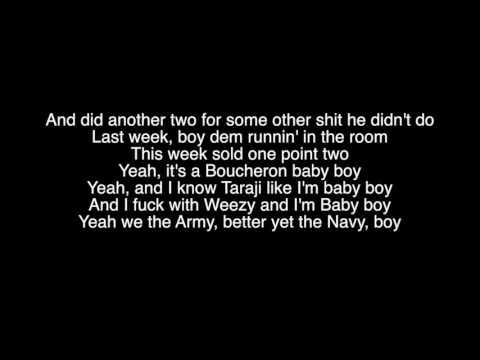 French Montana x Drake - No shopping Lyrics