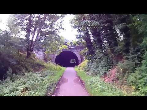Liverpool Loop Line / Bike Path.....it was once a Railway Line...