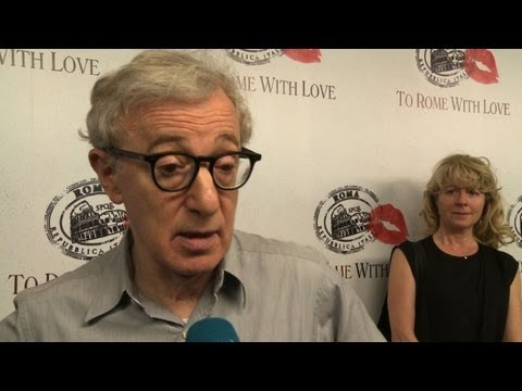 Woody Allen on 'To Rome With Love'