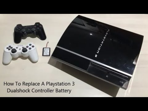 How To Replace A Playstation 3 Dualshock Controller Battery