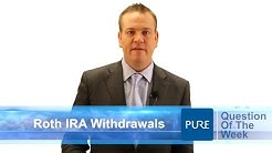 Roth IRA Contribution & Withdrawal Rules