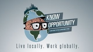 Know Opportunity: The Entrepreneur