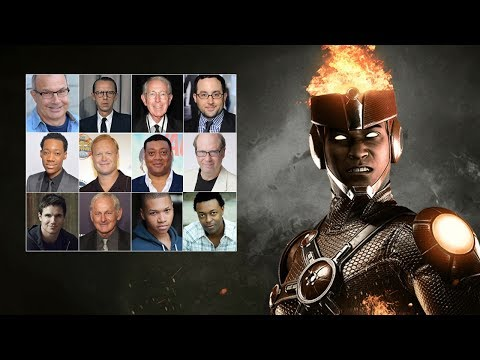 Comparing The Voices  Firestorm