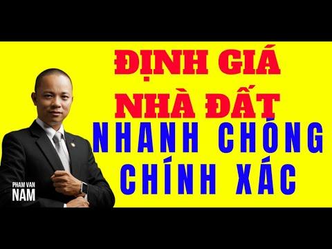 4 cách để định giá nhà đất nhanh chóng và chính xác nhất I Phạm Văn Nam