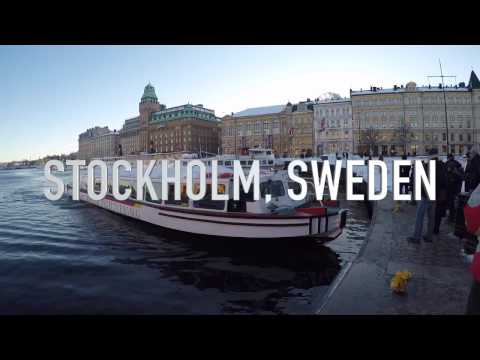 Things to see in Stockholm in winter (Shot from GoPro HERO5)