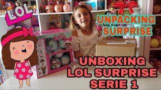 Unboxing LOL SURPRISE Serie 1 #02 / UNPACK SURPRISE SPECIALE DA ERICA E ALE!