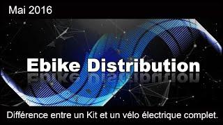 Différence entre un Kit et un vélo électrique complet.