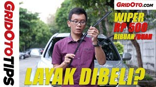 Review Wiper PIAA Si Tech Silicone | GridOto tips