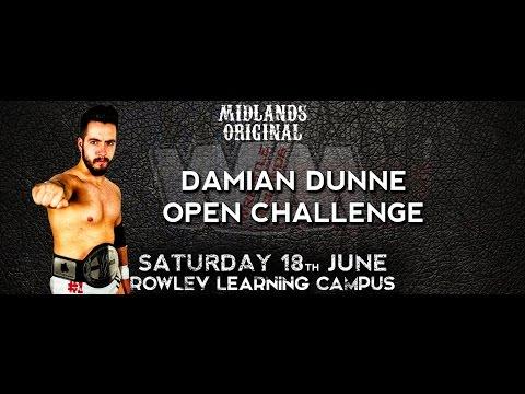 Wrestle Midlands: Midlands Original:- Damian Dunne Open Challenge