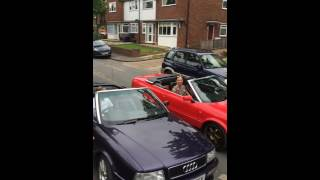1st Audi 80 Cabriolet/Convertible Soft Roof Speed Closing World Championship