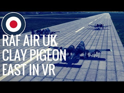 Virtual Reality flight - DCS Co-op with RAF Air Squadron in 1.6 - Operation Clay Pigeon East