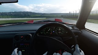 Gran Turismo Sport VR - 1989 Mazda Eunos Roadster (NA Special Package) Gameplay