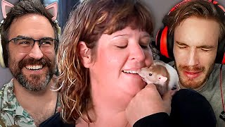 Lady Allows Rat Addiction To Destroy Her Marriage