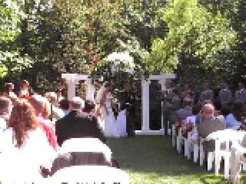 Outdoor Weddings At Riverside Receptions Etc Centreville Michigan