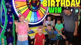 LOST on Matt's Birthday! -- Fun Arcade Party & MAJOR Cake Fail!