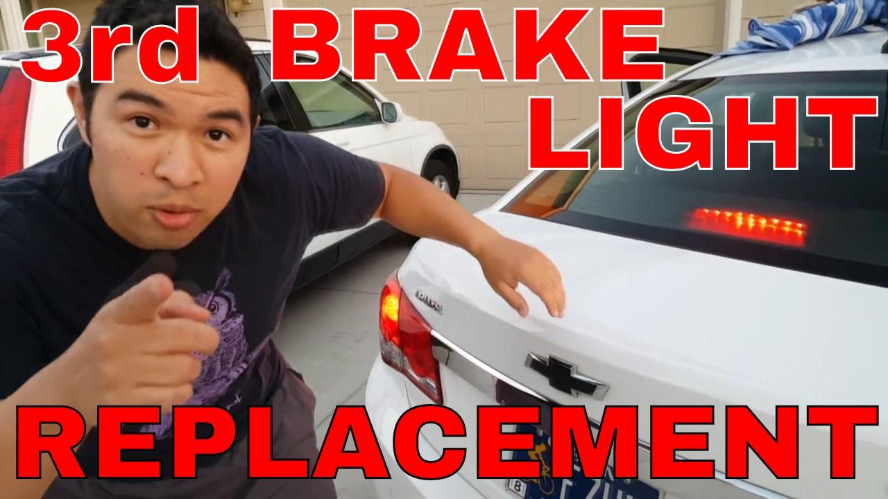 chevy cruze third brake light replacement tutorial [ 1280 x 720 Pixel ]