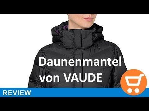 new product 032f6 f5e44 VAUDE Damen Daunenmantel Muztagh II, 04685 - Review | deutsch / german