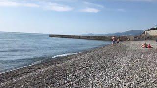 🏖 Ещё один Тихий Пляж 🏝 в Адлере‼️Где можно скрыться от суеты⁉️☝🏻