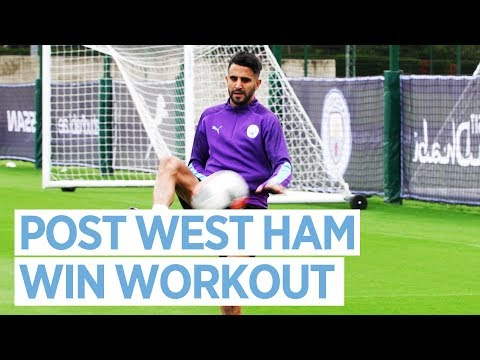 POST WEST HAM 5-0 TRAINING! | West Ham 0-5 City