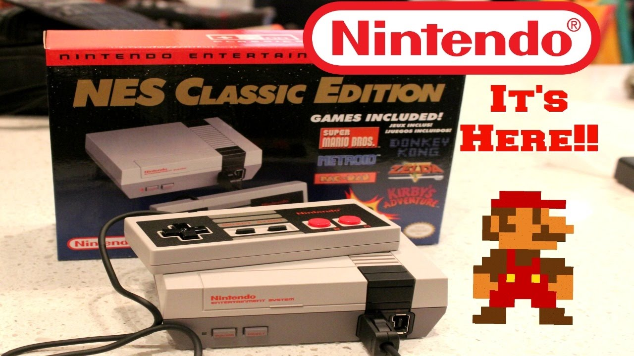 Nes Classic Unboxing Video How To Spot A Fake Youtube