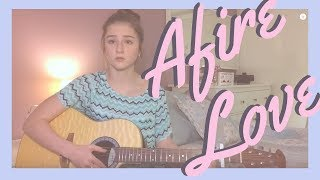 "Ed Sheeran ""Afire Love"" (Live Acoustic Cover)"