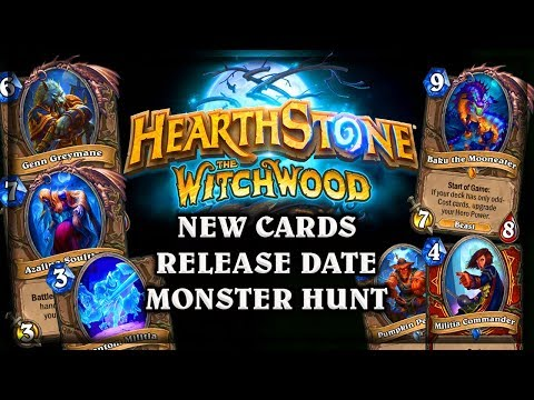 The Witchwood Expansion ANNOUNCED! ~Azalina Soultheif Baku the Mooneater Genn Greymane Hearthstone