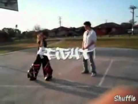 shuffle vs jumping