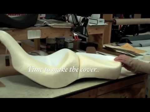 mustang seat fabrication process for the 2012 kawasaki vaquero