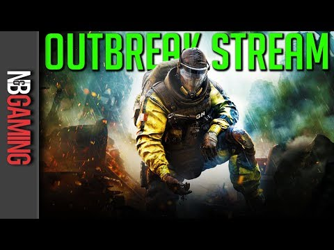 Full Live Stream - Shooting Zombies in R6 Siege: Outbreak - March 10, 2018