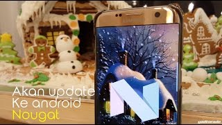 galaxy s7 android nougat update aod