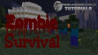 ZOMBIE SURVIVAL - Minecraft Bukkit PLUGINS 1.3 -  Befehle  #1/2 [Erste Folge]
