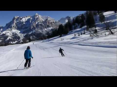 Snowheads: Blue 9a to San Cassiano