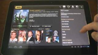New IMDb App for Android Honeycomb tablets (reviewed on Galaxy Tab 10.1)