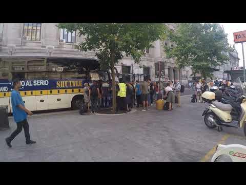 Как добраться из Милана в аэропорт Мальпенса на автобусе за 10 евро