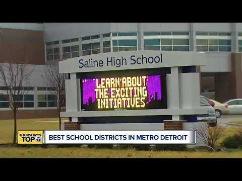 Thursday's Top 7: Best School Districts In Metro Detroit