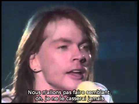 Guns N' Roses - (1988) Patience (Live 1992) (Sous Titres Fr)