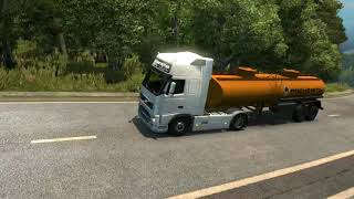 Шелехов - Слюдянка. (Euro Truck Simulator 2)