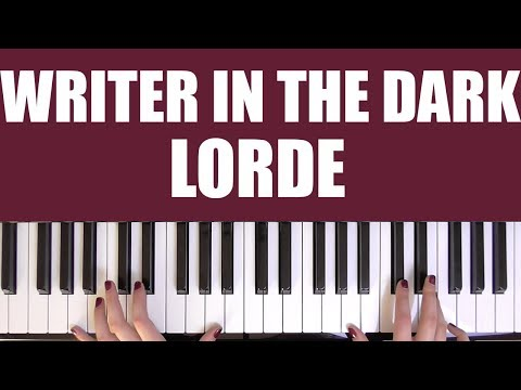HOW TO PLAY: WRITER IN THE DARK - LORDE