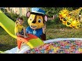 Тёма и веселые игры в бассейне с игрушками Щенячий патруль mp3