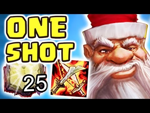 THE MOST DISRESPECTFUL JUNGLER | MAX MEJAI STACKS 1-SHOT BURST (FULL AP GRAGAS JUNGLE)
