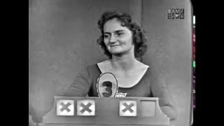 To Tell the Truth - Stock market columnist/singer; Gymnastics champion; Canary expert (Mar 20, 1961)