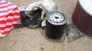 Toyota TLC-100/ VX. 4.2TD Замена топливного фильтра(, 2016-09-04T10:34:27.000Z)
