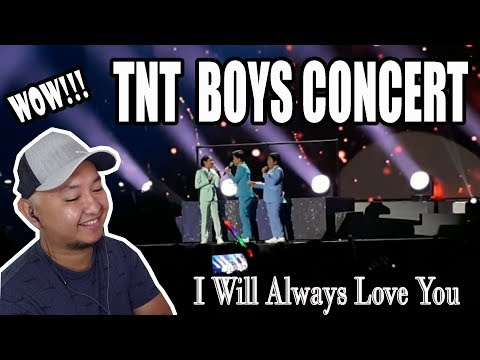 TNT Boys Concert , I Will Always Love You | Kickers TV