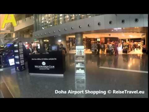 Doha Airport Shopping, Duty Free, Katar, Qatar Airlines, © ReiseTravel.eu