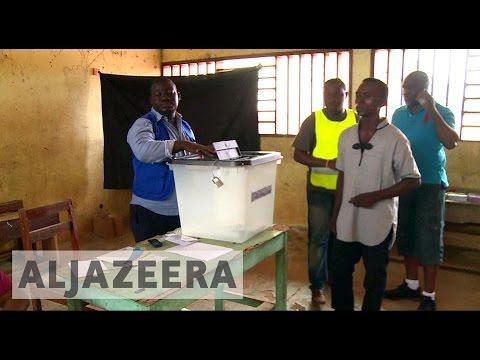 Voters in Gabon head to polls as Bongo seeks second term