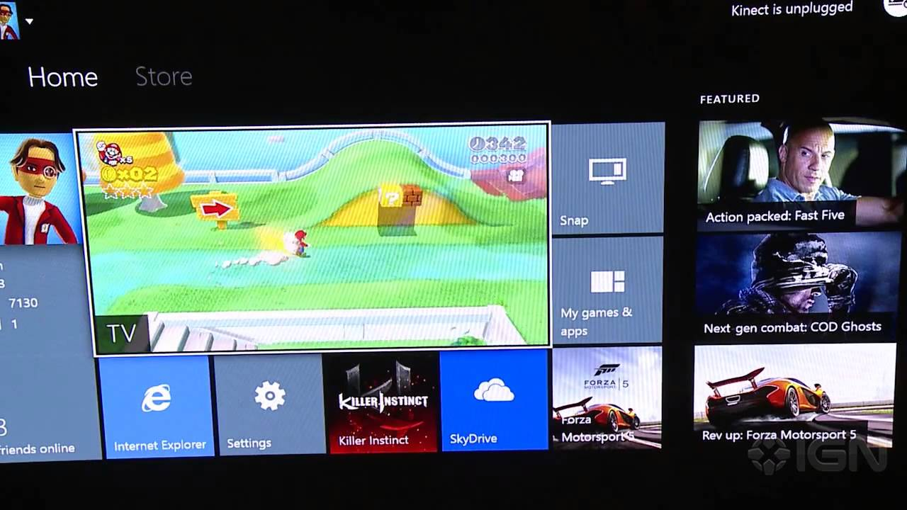 how to watch siupe bowl on xbox one