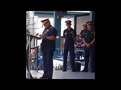 "PNP Chief Dir  Gen  Ronald ""Bato"" Dela Rosa apologized to Cebu City Mayor Tomas Osmeña"