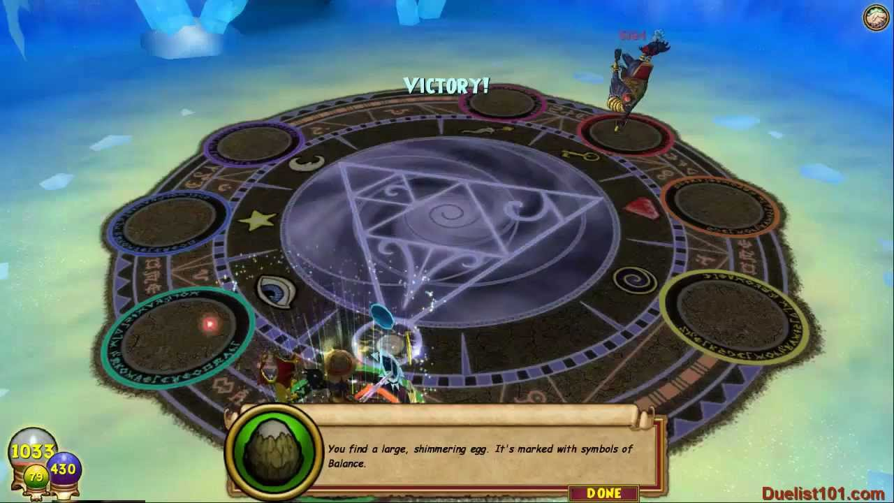 Wizard101 Judgement 58 Balance Pet Quest